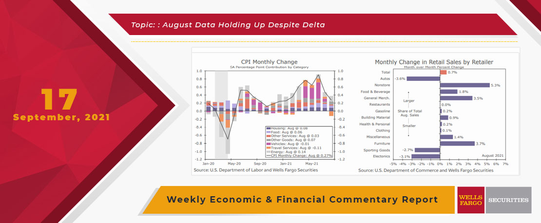 This Week's State Of The Economy - What Is Ahead? - 17 September 2021