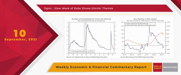This Week's State Of The Economy - What Is Ahead? - 10 September 2021