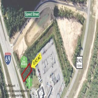 0.92 AC Land at New Caney TX