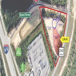 1.296 AC Land at New Caney TX